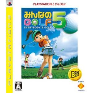 みんなのGOLF5 PlayStation3 the Best/PS3|bookoffonline