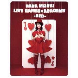 NANA MIZUKI LIVE GAMESxACADEMY(RED)(Blu−ray Disc)/水樹奈々 bookoffonline