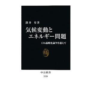 気候変動とエネルギー問題 CO2温暖化論争を超えて 中公新書/深井有【著】