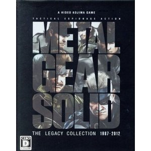 METAL GEAR SOLID THE LEGACY COLLECTION 1987−2012/PS3|bookoffonline