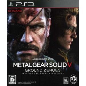 METAL GEAR SOLID5:GROUND ZEROES/PS3|bookoffonline