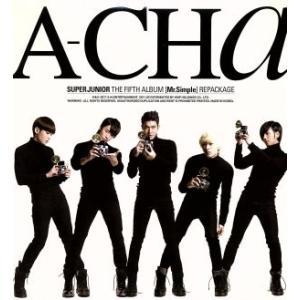 【輸入盤】A−CHa/SUPER JUNIORの画像
