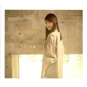 live for LIVE(Blu−ray Disc付)/早見沙織