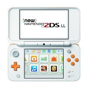 Newニンテンドー2DS LL:ホワイト×オレンジ(JANSOAAA)/本体(携帯ゲーム機)|bookoffonline