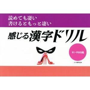 感じる漢字ドリル 初・中級編 読めても凄い 書けるともっと凄...