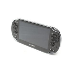 【箱説なし】PlayStation Vita 3G/Wi−Fiモデル:クリスタル・ブラック(PCH1100AA01)/本体(携帯ゲーム機) bookoffonline