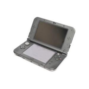 【箱説なし】Newニンテンドー3DS LL:メタリックブラック(REDSVAAA)/本体(携帯ゲーム機)|bookoffonline