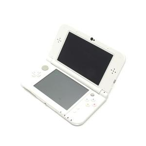 【箱説なし】Newニンテンドー3DS LL パールホワイト/本体(携帯ゲーム機) bookoffonline