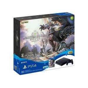【本体同梱版】PlayStation 4 MONSTER HUNTER:WORLD Starter Pack Black(CUHJ10022)/本体|bookoffonline