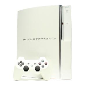 【箱説なし】PlayStation3(HDD40GB):セラミック・ホワイト(CECHH00CW)/本体|bookoffonline