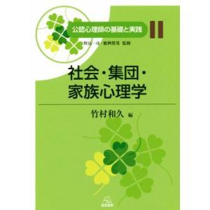 社会・集団・家族心理学 公認心理師の基礎と実践11/竹村和久(編者)