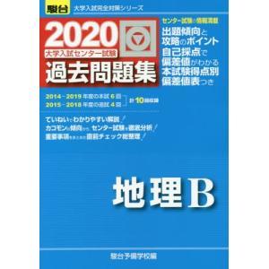 大学入試センター試験過去問題集地理B / 駿台予備学校/編