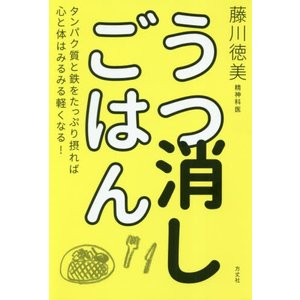 うつ消しごはん タンパク質と鉄をたっぷり摂れば心と体はみるみる軽くなる! / 藤川 徳美 著