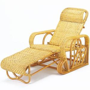 籐三つ折リクライニング寝椅子 a113 椅子 イス いす チェアー チェア 折りたたみ椅子 リクライニングチェア リラックスチェア パーソナルチェア|bookshelf