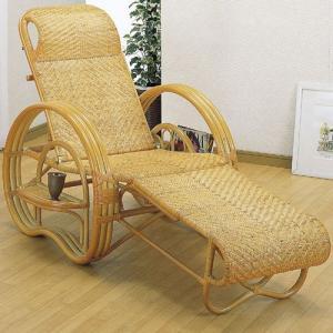 籐三つ折リクライニング寝椅子 a200 椅子 イス いす チェアー チェア リクライニングチェア 折りたたみ椅子 リラックスチェア パーソナルチェア|bookshelf