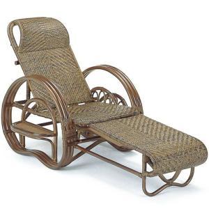 籐三つ折リクライニング寝椅子 a202b 椅子 イス いす チェアー チェア リクライニングチェア 折りたたみ椅子 リラックスチェア パーソナルチェア|bookshelf