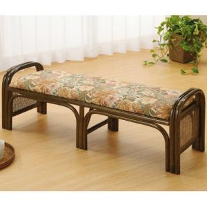 籐ワイドスツール 幅110cm c1203b 椅子 イス いす チェアー チェア 籐の椅子 座椅子 座イス 籐座椅子 ベンチ椅子 ベンチチェア パーソナルチェアー|bookshelf