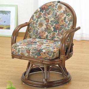 籐回転座椅子 ミドル tk771 椅子 イス いす チェアー チェア 座椅子 座イス 回転式座椅子 籐の椅子 籐回転椅子 回転 回転式椅子 回転チェア 回転いす bookshelf