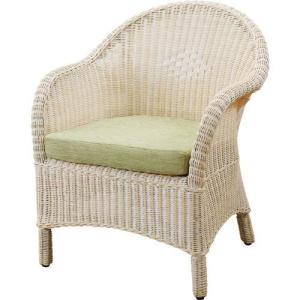 1人掛け籐ソファー 幅65cm ホワイト y130 籐家具 籐 ラタン家具 ラタン ラタン製 椅子 チェアー ソファー ラタンソファ|bookshelf