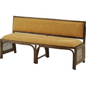 籐ベンチ 背もたれ付 幅140cm y878b 籐家具 籐 ラタン家具 ラタン 椅子 チェア チェアー イス いす 木製 ラ|bookshelf