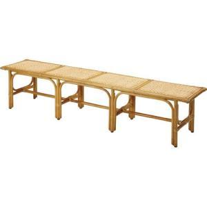 籐ベンチ 幅200cm y880 籐家具 籐 ラタン家具 ラタン 椅子 チェア チェアー イス いす 木製 ラタンチェア|bookshelf