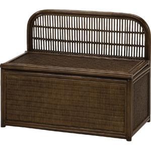 籐収納ベンチボックス 幅80cm y883b ベンチ ベンチチェアー ベンチチェア 椅子 イス いす チェアー チェア 籐椅子 収納付きベンチ 収納 収納付き|bookshelf