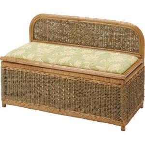 籐収納ベンチボックス 幅90cm y884b ベンチ ベンチチェアー ベンチチェア 椅子 イス いす チェアー チェア 籐椅子 収納付きベンチ 収納 おもちゃ箱|bookshelf