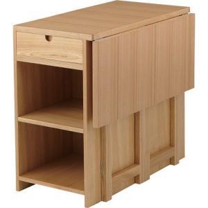 食器棚収納 レンジ台 カウンター バタフライテーブルワゴン コリング hot-523na|bookshelf