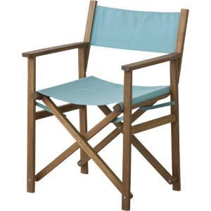 折りたたみ 木製 ガーデン チェア アウトドア 完成品 パティオ ブルー 折りたたみチェア 折り畳みチェア 折り畳み椅子 折りたたみ椅子 アウトドアチェア|bookshelf