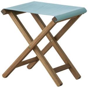 折りたたみ 木製 ガーデン スツール 完成品 パティオ ブルー 折りたたみスツール 折り畳みスツール 折り畳み椅子 折りたたみ椅子 アウトドアチェア 安い|bookshelf