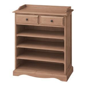 食器棚向け下置オープン収納シェルフ バーニー 幅85cm高さ93cm|bookshelf