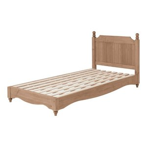 木製カントリー調すのこベッド バーニー フレームのみ シングル