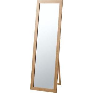 鏡 全身 姿見 スタンドミラー 完成品 角型 トリコ ナチュラル 木製 ウッド 木製フレーム 天然木 スタンド スタンドタイプ ミラー 姿見鏡 全身鏡 全身ミラー 北欧|bookshelf