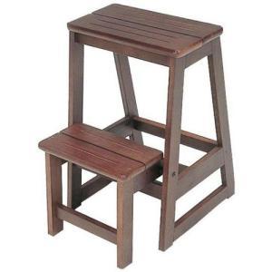 食器棚収納 レンジ台 カウンター ステップ 木製脚立 ステップチ|bookshelf