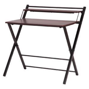 折りたたみワークデスク テーブル 机 省スペース パソコンデスク ワークデスク シンプル 木目調 棚付き 組立不要 完成品 b-70389 おしゃれ 安い|bookshelf