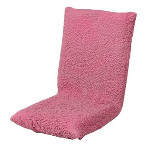 椅子 イス チェア チェアカバー チェアーカバー 無地 ピンク 814|bookshelf