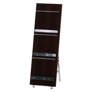 マガジンラック 業務用 木製 マガジンスタンド パンフレットスタンド 3段 スリム 幅300 奥行350 高さ900mm ブックラック 待合室 オフィス おしゃれ 安いの写真