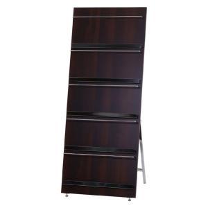 本収納 収納ラック 業務用木製マガジンスタンド パンフ bookshelf