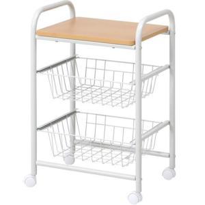 食器棚収納 レンジ台 カウンター キッチンワゴン キャスター付 A|bookshelf