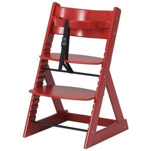 椅子 イス チェア 子供用グローアップチェア レッド b-88852|bookshelf
