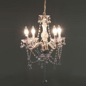 ライト 照明 アンティークシャンデリアランプ 4灯 クリア 94447|bookshelf