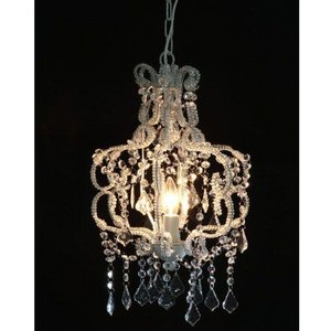 ライト 照明 アンティークシャンデリアランプ 1灯 クリアA 94451|bookshelf