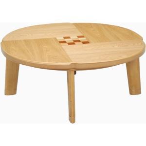 日本製 天然木こたつ フローラル 円形 幅100cm こたつ コタツ こたつテーブル こたつ本体 炬燵 木製 ko16-26 bookshelf