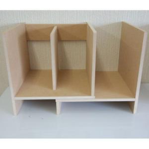 国産 スライドブックスタンド ラック デスクラック 卓上ラック 小物整理 カウンター上ラック キッチン 本立て ブックスタンド コンパクト テーブル上 本棚 書棚|bookshelf