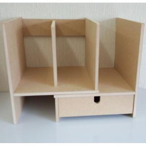 国産 スライドブックスタンド 引出し付き ラック デスクラック 卓上ラック 小物整理 カウンター上ラック デスク上 卓上 本立て ブックスタンド コンパクト 本棚|bookshelf