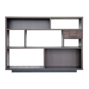 デザインシェルフ コルク 幅125cm高さ90cm ga-ck-she-125|bookshelf