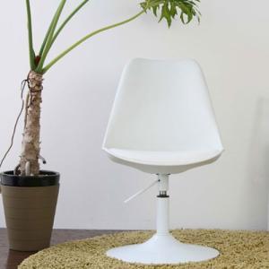 ラウンジチェア 合成皮革張り バニラ ホワイト ga-va-lounge-wh|bookshelf