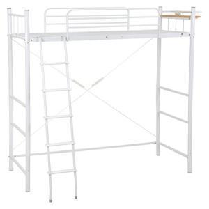 ロフトベッド 高さ205cm ホワイト KH-3025WH hg-kh-3025wh|bookshelf