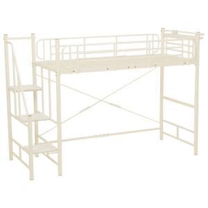 階段付きロフトベッド アイボリー KH-3378M-IV hg-kh-3378m-iv|bookshelf