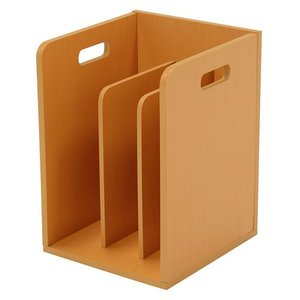 積み重ね可能ブックスタンド ナチュラル 4個組 MM-6105NA hg-mm-6105na|bookshelf
